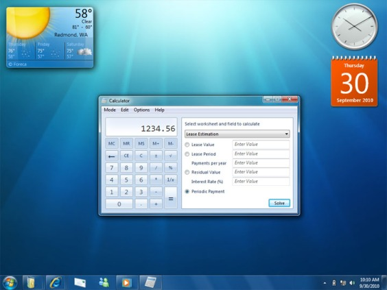 Windows 7 User Interface was released two years after Vista and more readily accepted.